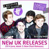 2014-06-15 June Week 3 New UK Chart Releases