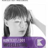 Kontrast001 Podcast - Miss Electric