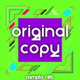 original copy - sample #05 (Disco House)