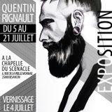 Interview de Quentin Rignault - Exposition dans la Chapelle du Scénacle du 5 au 21 juillet 2019