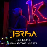 jbrisa TECHNO SET - Killing Time 29-09