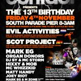 Mark EG ( Live ) @ Contact 13th Birthday ( Free Downloads @ www.facebook.com/contactevents )