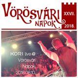 Kori live @ Vörösvári Napok 2018