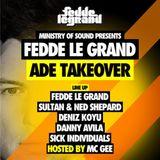 Fedde le Grand – Live at ADE (Escape Venue Amsterdam) – 19.10.2012