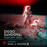 MNMS006 - MinimumOnTheRadio - Diego Sandoval TechnoLiveSet 31.08.2014