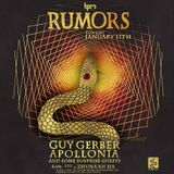 Guy Gerber & Chaim @ Rumors After Party, Tulum Cenote (The BMP Festival 2015) - 11-Jan-2015