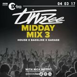 House x Bassline x Garage megamix by @Djtimze for BBC @1Xtra  - High energy #House #Bassline #Garage