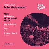 A Sides & Raw Q B2B @ Bar La Posta - Sun And Bass Sep 2017