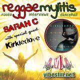 """Interview with Kirk """"Kirkledove"""" Bennett on the Reggaemylitis Show for Vibes FM, London"""