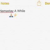 Jai Pyne Presents Namastay A While