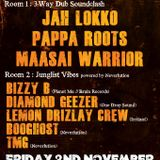 Diamond Geezer @ Bristol Dub Club - November 2012