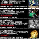 20160628 21h 14 - 22h 14  Luminar Records Excl. Guest Radio Show w/DJ Dbmassive (Luminar Records)