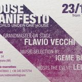23.10.15 House Manifesto w/ FLAVIO VECCHI @ EDDIE RABBIT - LEGNANO