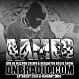 AAMES Live @ The E-SCALATION RADIO SHOW dnbradio.com 23.01.2016