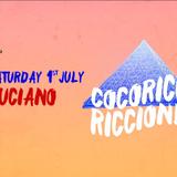 Luciano - Live @ Cocorico (Riccione, IT) - 01.07.2017