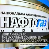 EBRD Appeals to the Ukrainian Government to Restore Naftogaz Charter