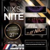 NIXS At NITE Live Set With Music By Dancin' Mark 001 [FREE DOWNLOAD]