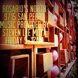 Steven Lee Moya: LIVE @ Rosarios North Lounge Friday September 19, 2014