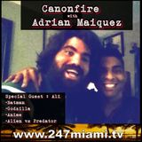 #Canonfire ep26 with Adrian Maiquez and Ali #comicbooks #Batman #Godzilla #Anime