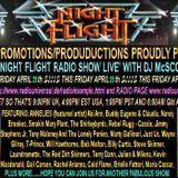 The Nightflight Radio Show from 25th April 2014 with DJ McScotty aka Steve Perz