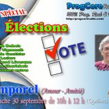 TEMPOREL - (30 sept. 2018 - Élections)