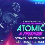 ATOMIC LIVE @ GJUNKIE > ATOMIC & FRIENDS < HARD CLUB