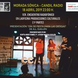 PODCAST MORADA SÓNICA - 18052019 PRIMER ENCUENTRO RADIOFÓNICO EN LAOFICINA