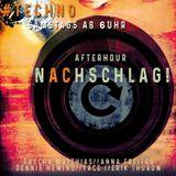 Sascha Matthias live @ nAChschlag!! 08.09.2018 - Club Nightlife - Aachen