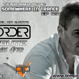 Somewhere In Trance EP 009 An Angel In Earth ReOrder Tribute