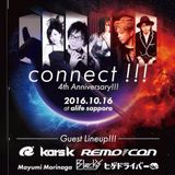 Oct-16-2016 connect!!! 4th Anniversary!!! LIVE MIX