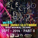 Saint James Electronic @ Electro Bar - MJC Rixensart - Septembre 2014 - PART II
