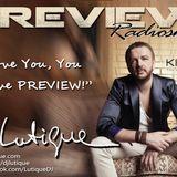 PREVIEW Radioshow By DJ LUTIQUE on Kiss FM Ukraine p.161