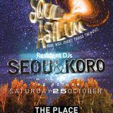 Seou @ Soul Asylum Party 25.10.14