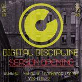 """Cranberry Spicy - """"DIGITAL DISCIPLINE"""" - Live Dj Set @ """"ХИЖИНА"""" [SERDCE] (30.10.15)"""