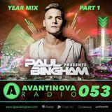 #53 PAULBINGHAM - AVANTINOVA RADIO (Year Mix Part 1)