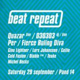 Live acid house & techno set on Beat Repeat @ Pand14, Amsterdam, 2012