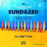 DJ Better Casa Corona Sundazed mixtape (groove, funky house, disco house, deep house)