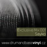 Sayko - Exclusive Mix 001 - 2017/03
