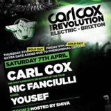 Yousef - Live @ Carl Cox The Revolution, Electric Brixton, Londres, IInglaterra (07.04.2012))