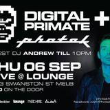 Digital Primate live set Sept 2012