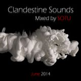 Clandestine Sounds - Mixed by SOTU aka DJ OBBY (June 2014)