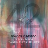 Sounds In Motion 30.10.2014 - Birthday on air edition