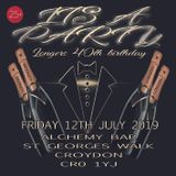 Its A Party, Longers' 40th Birthday Promo CD Friday 12/07/2019