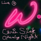 Chris Sick Live @ W Lounge Opening Night