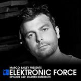 Darren Emerson - Elektronic Force Podcast 049 (2011.11.16.)