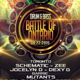 Drum Bass Entertainment Battle of Ontario Promo Mix