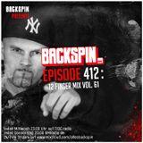 BACKSPIN FM # 412 - 12Finger Mix Vol. 61