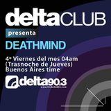 Delta Club Presenta Deathmind Octubre 2012