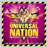 Universal Nation Session 1.0 mixed by Major Bryce