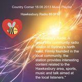 Country Corner 18.08.2013 Hawkesbury Radio 89.9FM Hillcrest Music Mix